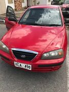 HYUNDAI Elantra 2003 Manual 5 speed 177,000 kms  Modbury Tea Tree Gully Area Preview