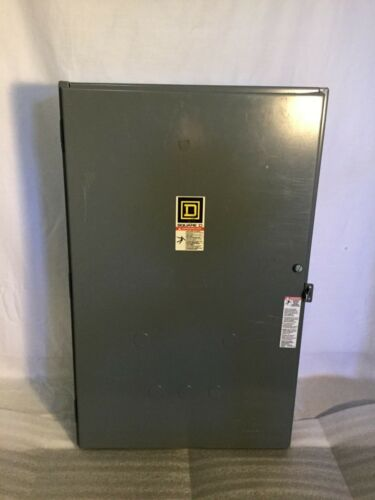 Square D 100 A Lighting Contactor Box