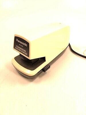 Panasonic Commercial Electric Stapler As-300nn Tested Works Office Supply