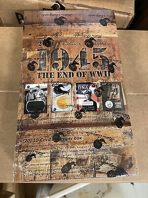 1945 The End of WWII Hobby Box Historic Autographs History Cards World War 2 SFC
