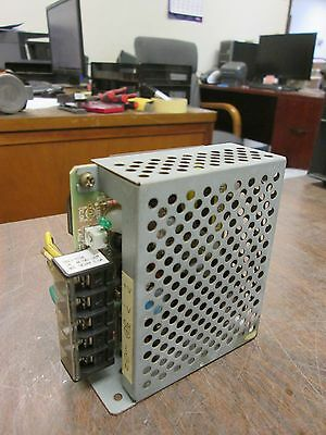 Omron Power Supply S82j-0124 In 100-120vac 5060hz 0.35a Out 24vdc 0.5a Used