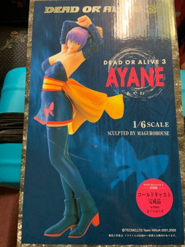 Tecmo Dead or Alive 3 DOA Ayane 1/6 Epoch cold cast prepainted statue new