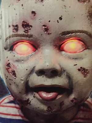 Spirit Halloween Animated Prop Zombie Babies Lil' Walker NIB