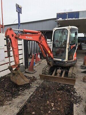 kubota Mini digger excavator U25 3