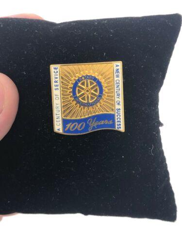 Rotary International Pin Lapel Hat 100 YEARS THEME