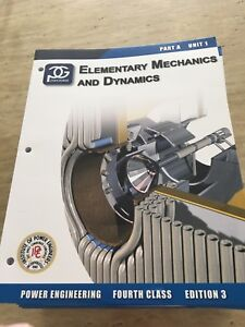 Power engineering 4th class textbooks 3.0 edition