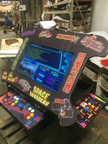 """3 Sided Cocktail Arcade with 32"""" Monitor"""
