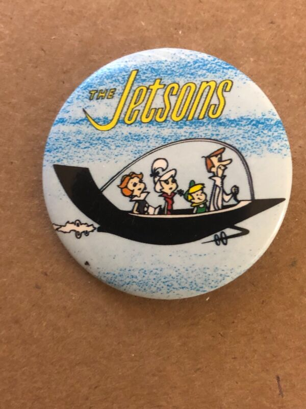 Vintage The Jetsons Pin Hanna Barbera Productions Inc 1983 Button Up Co.