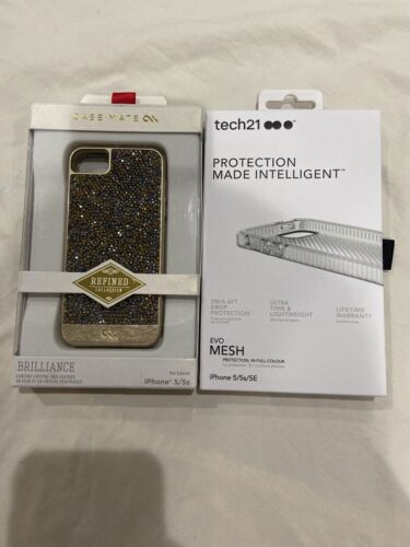 Tech21 Evo Mesh Clear Case-Mate Brilliance Crystal Cases For IPhone 5, 5S, SE - $4.99