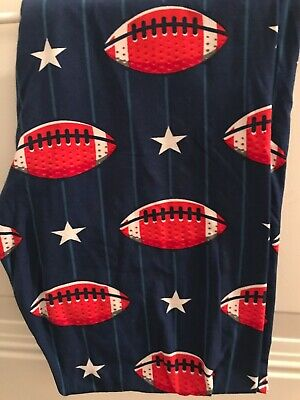 Red White and Blue Football Leggings Plus Size
