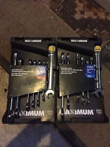Maximum gearwrench combination wrench set