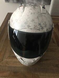 Icon motorcycle helmet