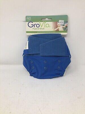 GroVia Hybrid Cloth Diaper Shell, Hook Loop Shell (Lotus)
