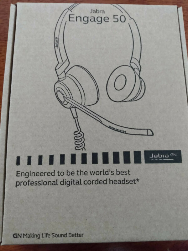 Jabra Engage 50 Stereo Wired Headset USB-C 5099-610-189