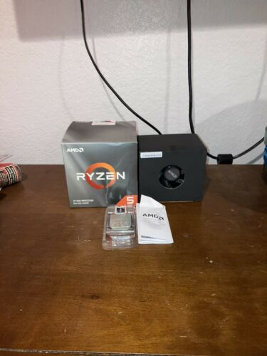 AMD Ryzen 5 2600x 6 Core 12 Thread Desktop Processor New Ope