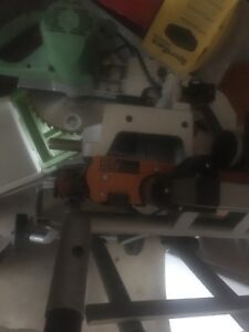 King chop saw and rigid stand