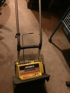 Noma Snow Thrower (Electric)