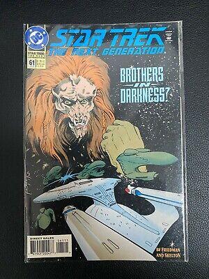 Star Trek: The Next Generation Comic Book #61 DC Comics 1994 NEAR MINT UNREAD