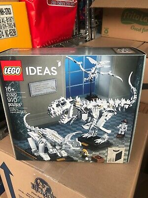 LEGO Ideas: Dinosaur Fossils 21320 Exclusive Set Officially Licensed NIB/Sealed