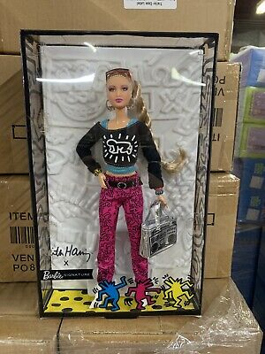 Barbie Signature Keith Haring Doll Gold Label Limited Edition Collector New