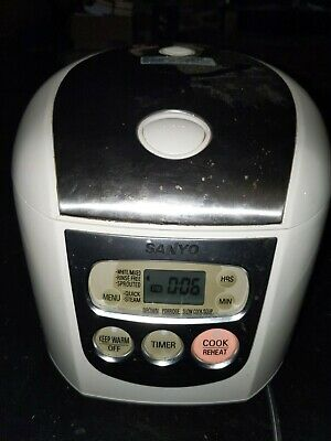 Sanyo electronic Rice Cooker. No bowl. Pre-owned.