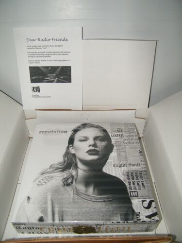 Taylor Swift Reputation Tour VIP Box & Materials UNOPENED SEALED DJ Radio Promo