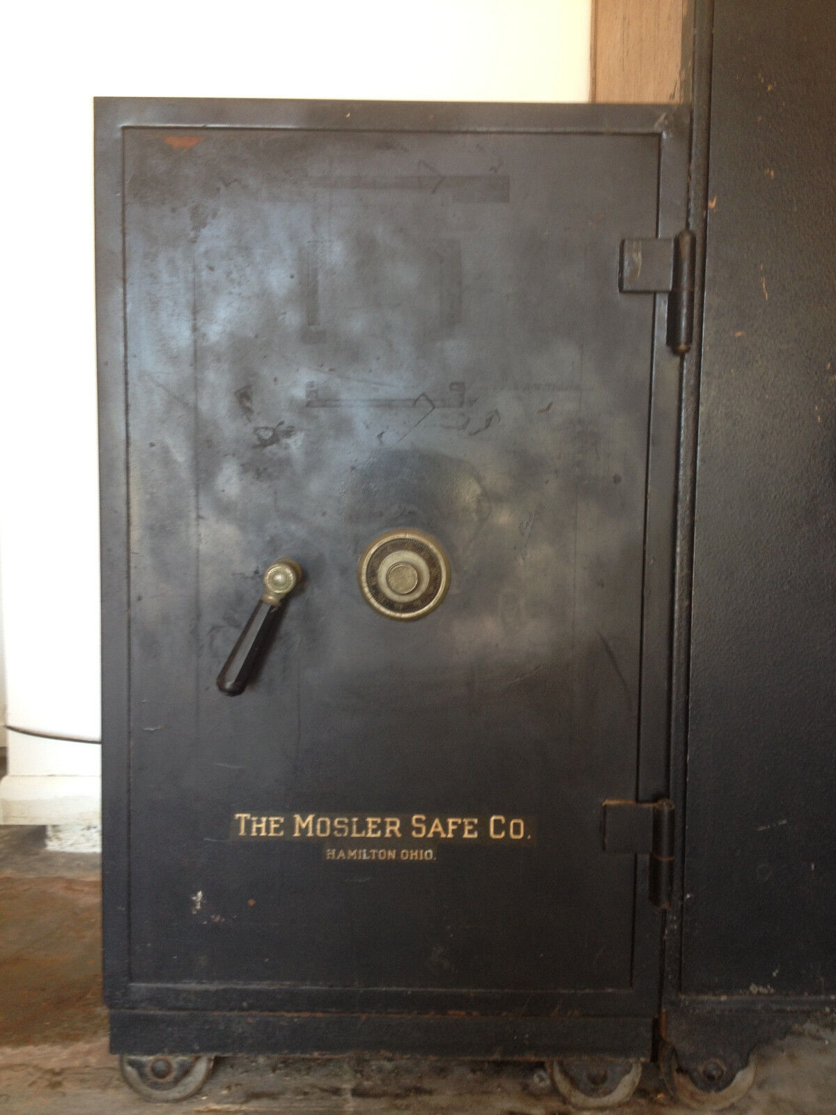 Vintage Antique Mosler Safe Co Safe