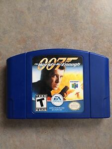 007 World Is Not Enough N64 Game