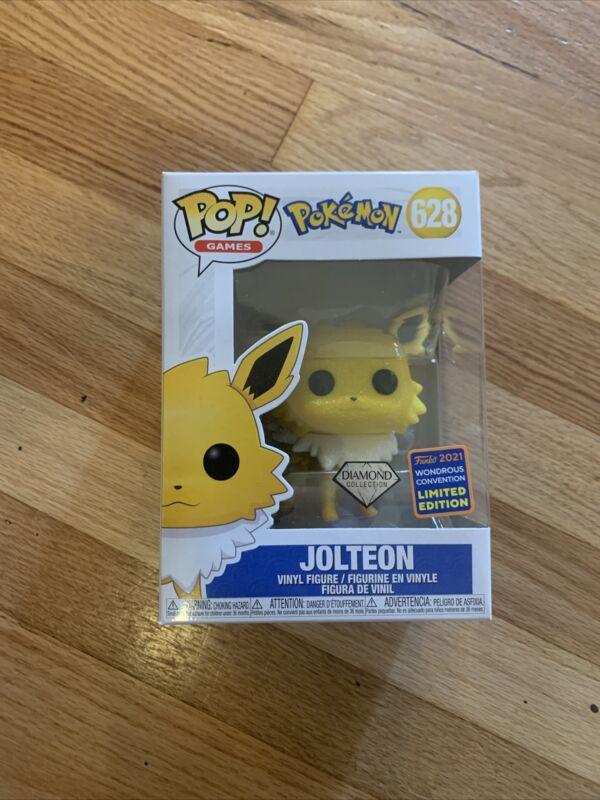 Funko Pop! Pokemon Jolteon Diamond Collection Wonderous Convention Exclusive