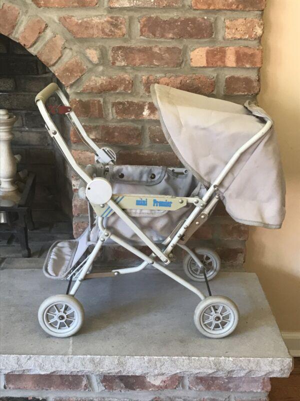 vintage Daust baby doll stroller buggy late 80sChild