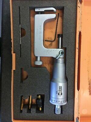 Mitutoyo 217-108 1- 2 Uni-mike Multi-anvil Micrometer Metric Readout