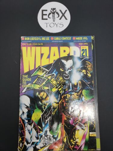 Wizard (The Guide to Comics) # 21 - Vol. 1 May 1993
