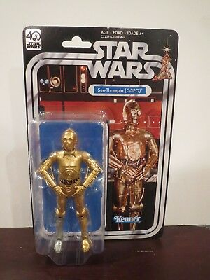 "Star Wars 40th Anniversary C-3PO black series 6"" SEALED wave 2 - C9+"
