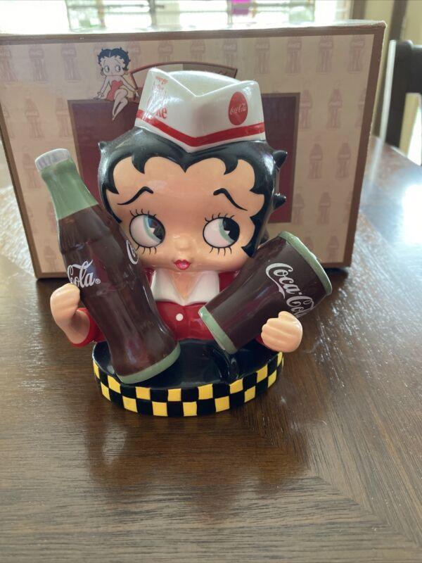 Betty Boop Coca Cola Salt & Pepper Shaker