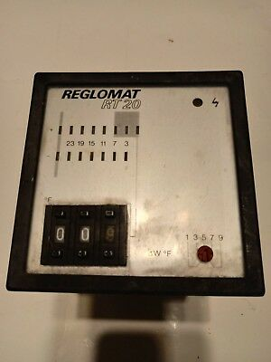 Reglomat Rt-20 Temperature Controller Temp Control