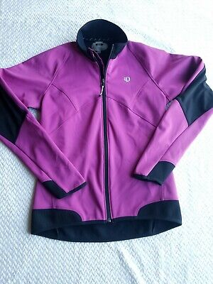 Pearl Izumi Soft Shell Cycling Jacket Full Zip With Back pocket Womens Small (Cycling Soft Shell)