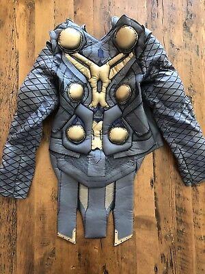 Disney Store Child Size Medium (7/8) Avenger Thor Muscle Deluxe Costume Torso - Medium Thor Kostüm