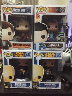 Pop Vinyl! Star Wars! Doctor Who! Super natural! Belmore Canterbury Area Preview