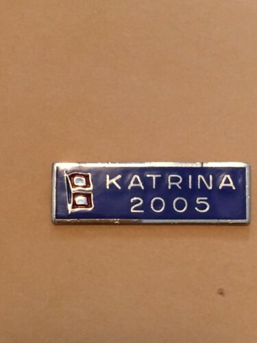 HURRICANE KATRINA SERVICE COMMENDATION award bar uniform pin police/EMS/fire