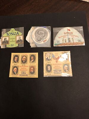 Tonga Mint British Colony Stamps- Lot A-68372