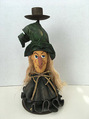 WITCH CANDLESTICK * clothtique * NEW