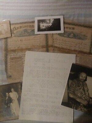 Genealogy~GATES OF S.C.1892 MARRIAGE CERT. PICTURES, BIRTHS DEATHS LAND GRANTS !!