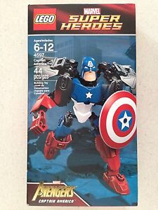 Lego 4597 Captain America Marvel Super Herioes New In Box