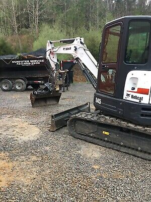 50 Hydraulic Ditching Grading Bucket For Bobcat Mini Excavators.