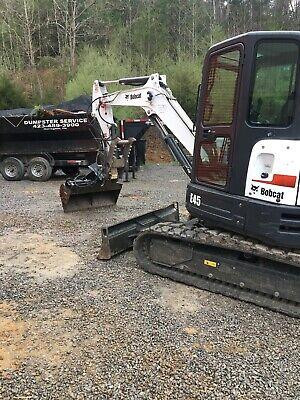 50 Hydraulic Ditching Grading Bucket For Bobcat Mini Excavators.