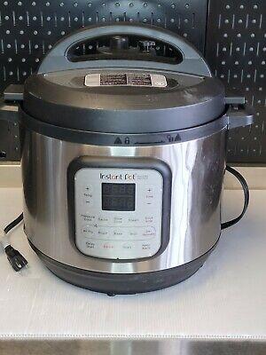 Instant Pot Duo Crisp 11 In 1 Electric Pressure Cooker With Air Fryer Roast B...