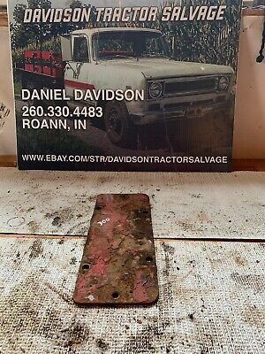 Farmall 300 Rowcrop Tractor Ih Belt Pulley Delete Cover