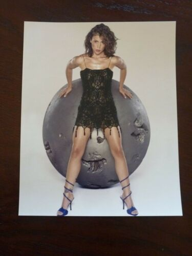 Alyssa Milano Sexy Actress 8x10 Color Promo Photo #2