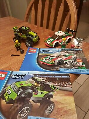 Lego 60053 And 60055 City Race Car And Monster Truck