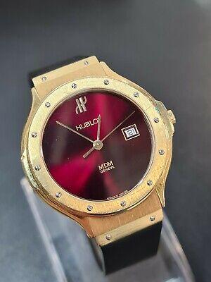 Hublot MDM 18k gold midsize Watch